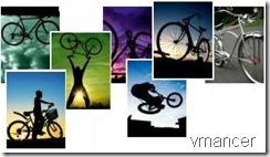 wallpaper sepeda artistik
