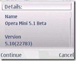 opera mini 5.1 beta 2- s60 - install