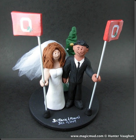 U Of M Wedding Cake Toppers