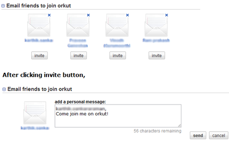 orkut invite