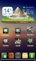 Screenshot of Drock Next Launcher 3D Theme