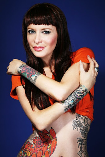tattooed women pictures