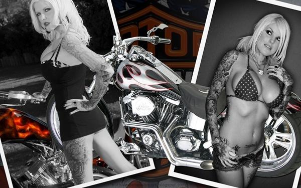 harley_davidson_2_and_hot_women_wallpaper