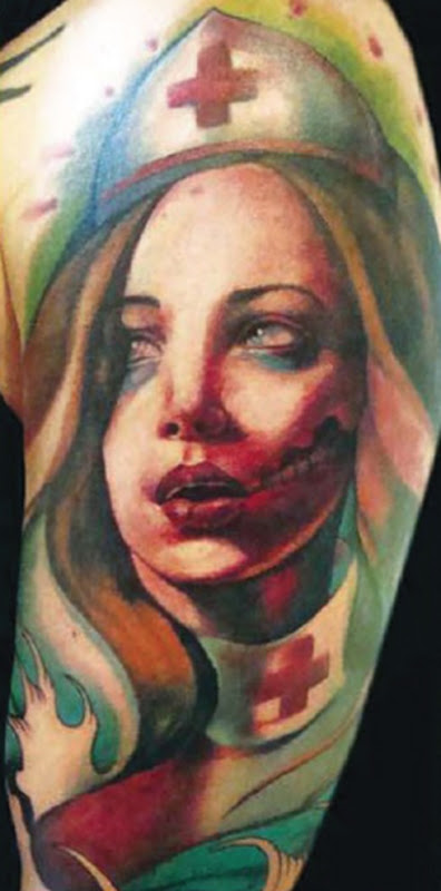 Clair Reid tattoo 8