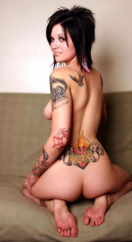 tattood woman  6
