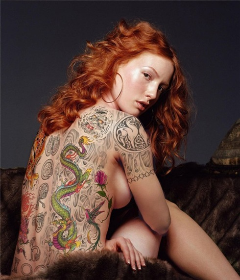 women with ink  Alicia-Witt