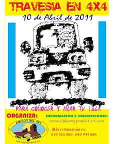 Travesía en 4x4 Club de Amigos 4x4 10/04/2011