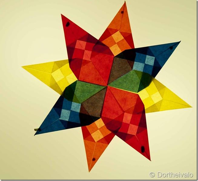 flerfarvet