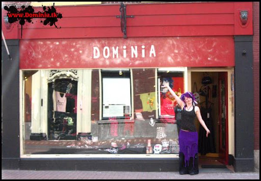 dominia, netherlands store, punk boutique