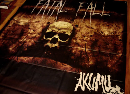 vinyl banner, fatal, fall collection, hardcore, metal