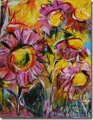 Sips n Strokes Vestavia - Abstract Flowers