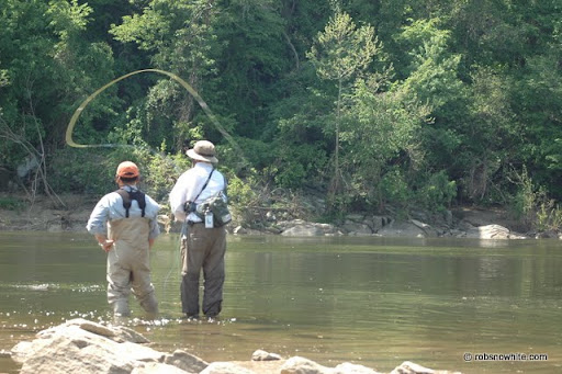 two handed fly fishing techniques
