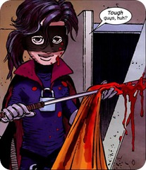 hit girl comic
