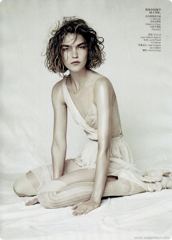 arizona-muse1  for Vogue China April