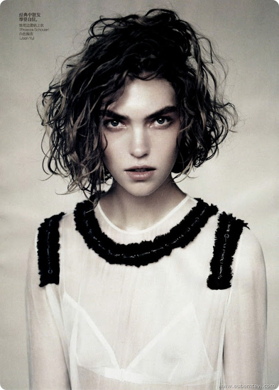 arizona-muse4  for Vogue China April