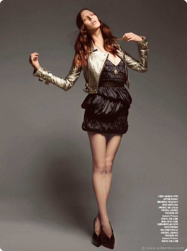 ruby-aldridge6 Harper's Bazaar Coréia