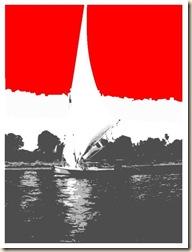 Egypt Flag.Aswan.hamzaz