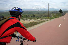 carril bici colmenar