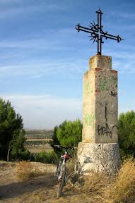 Cerro de la cruz en Esquivia