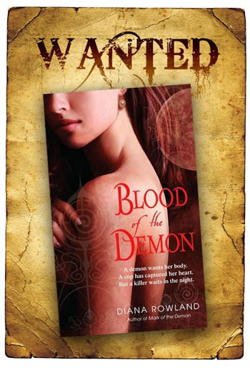 Wanted: Blood Of The Demon by Diana Rowland