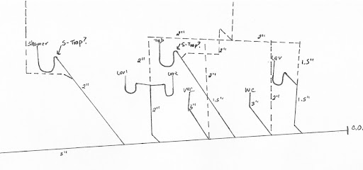 piping drawing isometric