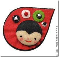 manualidades broches en fieltro (6)