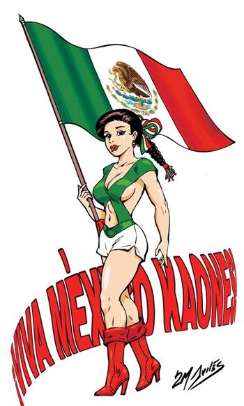 abanderada-mexicana viva mexico