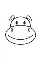 hipopotamo blogcolorear (1)