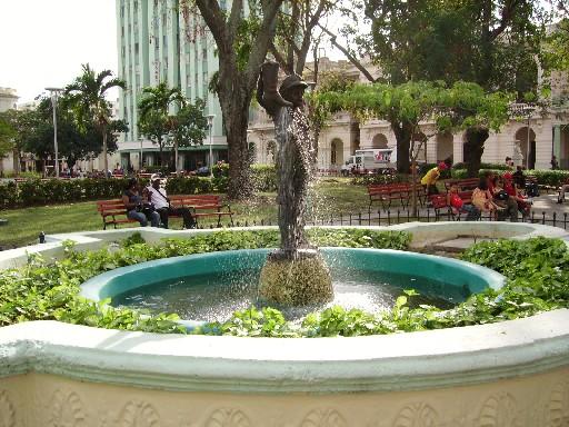 Parque Vidal en Santa Clara, Cuba