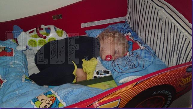 Første natt i stor seng 1