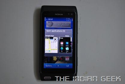 Nokia N8 - Multi-tasking in Symbian ^3