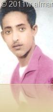 الفقيد الشاعر احمد عباد الحسيني شاباً