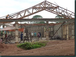 Broadway team, buildings, Kibaale administrators 024