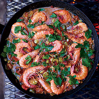 Shrimp-and-Sausage Stew
