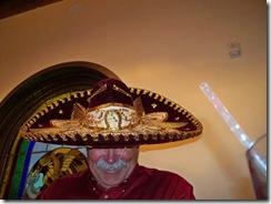 JB  in sombrero
