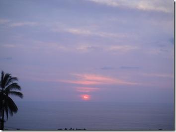 サンセット・コナハワイ島