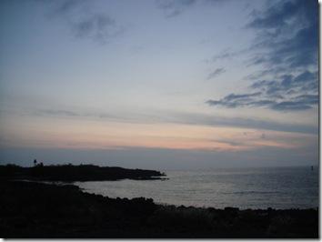 ハワイ島・夕焼け