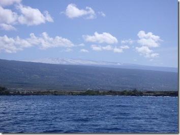 ハワイ島・雪のマウナロア