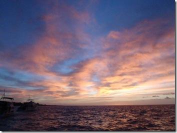 夕日・ハワイ島