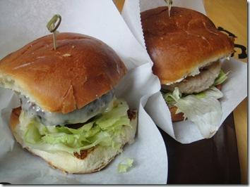 ハワイ島ワイメアのハンバーガー