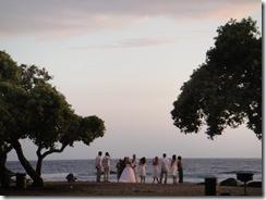 ハワイ島ビーチ結婚式