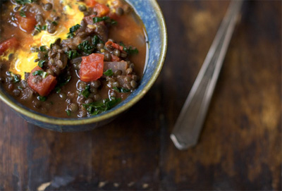 still dottie recipes - lentil soup from 101 cookbooks