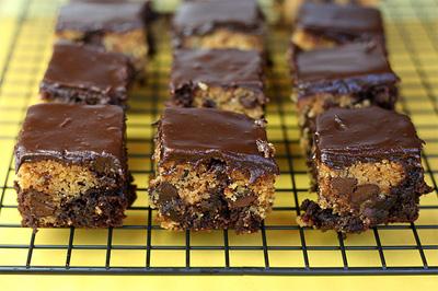 still dottie recipes - betty crocker cc cookie dough brownies from bakerella