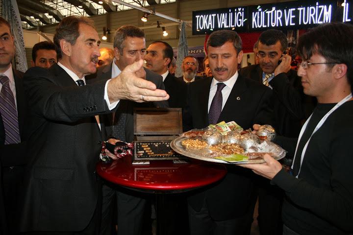 TOKAT TRAVEL TURKEY İZMİR 2010 TURİZM FUARI'NDA