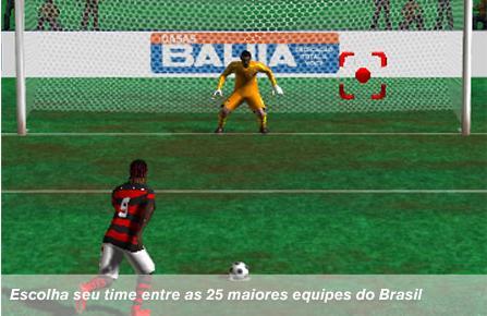 Globo Esporte - Jogo Online - Penaltis - Game Futebol