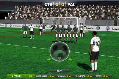 Globo Esporte - Jogo Online - Cobranças de Falta - Game Futebol