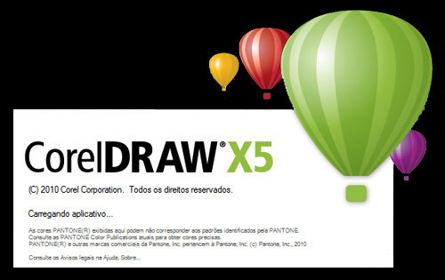 corel draw x5 splash
