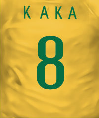 Camisa do Brasil - Kaká
