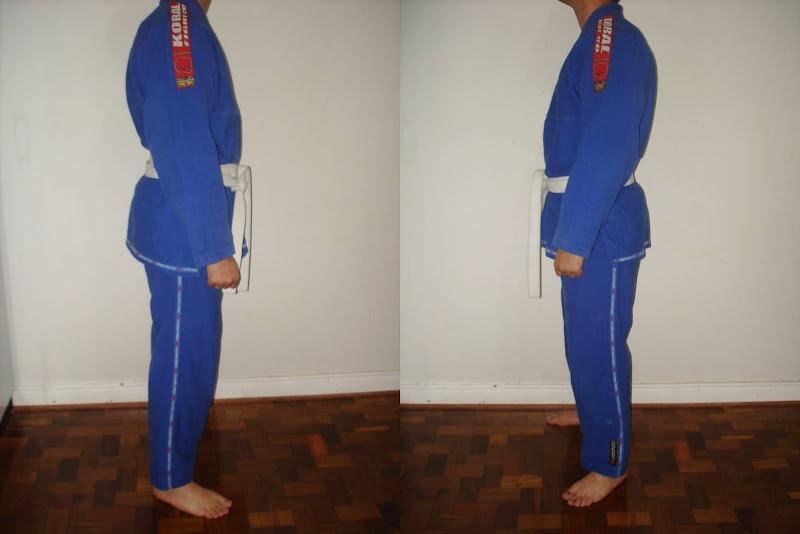 Vende-se Kimono Jiu-Jitsu Coral Fight - Tamanho A3 100% Algodão