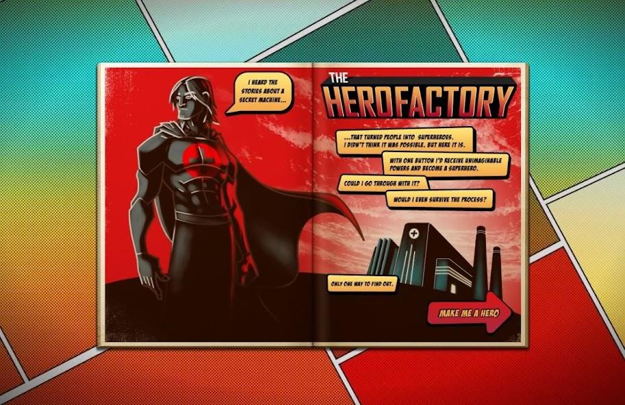 The Hero Factory - Desenhe seu Super-Herói Online